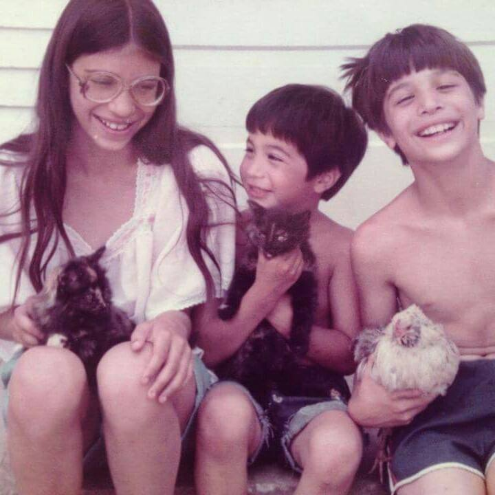 Amada and her brothers